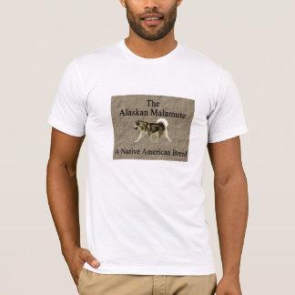 T-shirt de Malamute d'Alaska