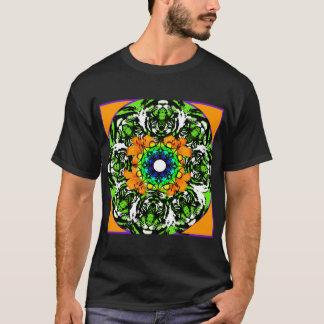 T-shirt de mandala de lis tigré