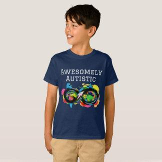 T-shirt De manière impressionante autiste