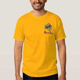 T-shirt de mardi gras avec le masque coloré