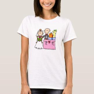 T-shirt De mariage de cadeaux chemise en abondance