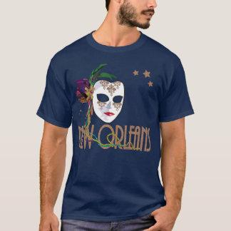 T-shirt de masque de la Nouvelle-Orléans de