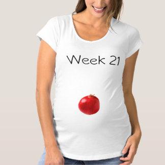 T-shirt de maternité 21 semaines