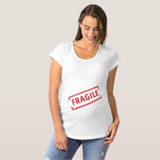 T-Shirt De Maternité Fragile