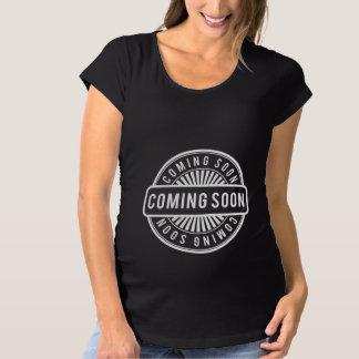 T-Shirt De Maternité Venez bientôt