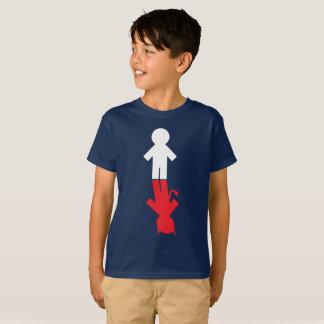 """T-shirt De """"mauvais garçon bon garçon """""""