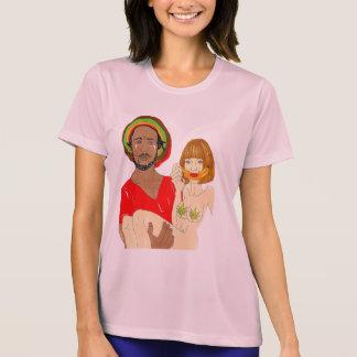T-shirt de Micro-Fibre de représentation de dames