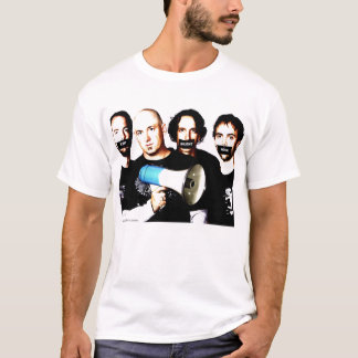 T-shirt de mode silencieux de sortie du mégaphone