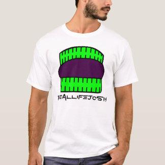 T-shirt de Moreo des hommes - vert et pourpre