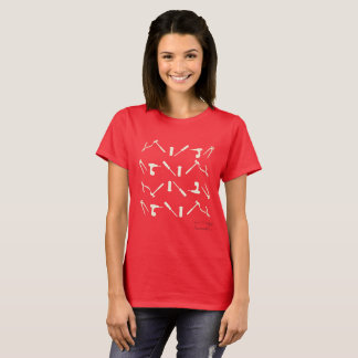 T-shirt de motif d'outils d'atelier de mécanicien