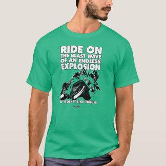 T-shirt de moto - onde de choc