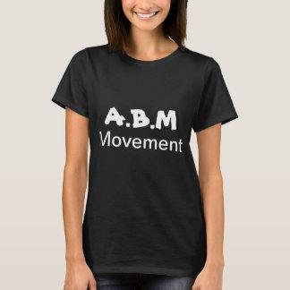 T-shirt de mouvement d'A.B.M