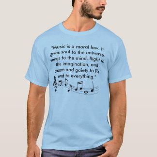 T-shirt de musique