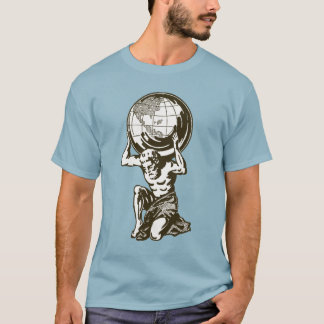 T-shirt de mythologie grecque d'atlas