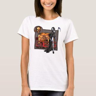 T-shirt de nano de 666 dames Hanes