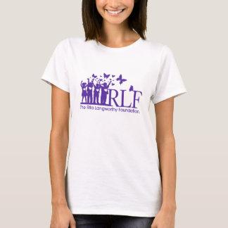 T-shirt de nano de Hanes des femmes de logo de RLF