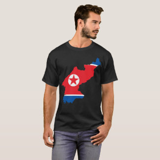 T-shirt de nation de la Corée du Nord