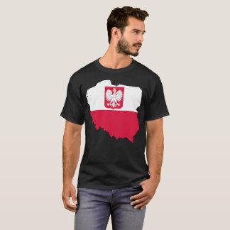 T-shirt de nation de la Pologne