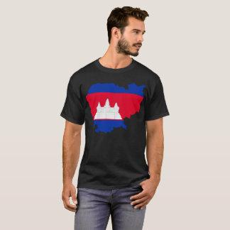 T-shirt de nation du Cambodge