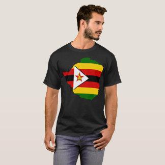 T-shirt de nation du Zimbabwe