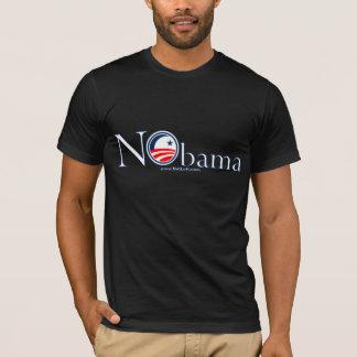T-shirt de NObama (conception blanche)