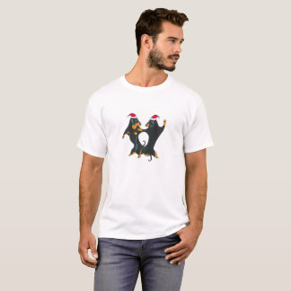 T-shirt de Noël de teckel