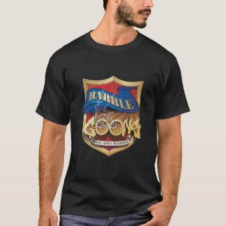 T-shirt de noir de crête de crétins de rumeur