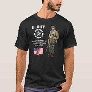 T-shirt De Normandie, la France, 1944 jusqu'à Pilsen,