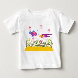 T-shirt de nourrisson d'amis d'océan