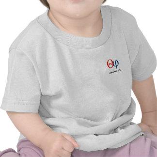 T-shirt de nourrisson de logo de theophiles org