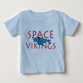 T-shirt de nourrisson de Vikings de l'espace