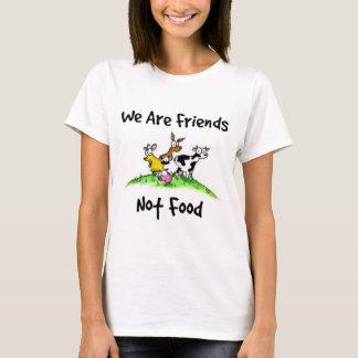 T-shirt de nourriture d'amis pas