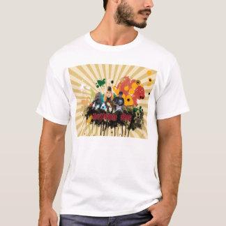 T-shirt De nouveau à la chemise de fondements
