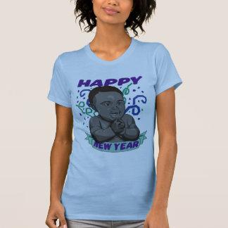 T-shirt de nouvelle année de bébé