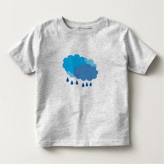 T-shirt de nuage de pluie