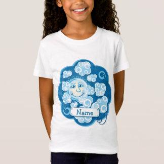 T-shirt de nuages et de lune