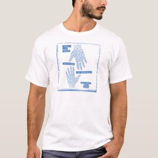 T-shirt De pair bleu