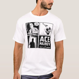 T-shirt de panneau de Kilroy quatre d'as