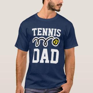T-shirt de PAPA de tennis pour le papa - cadeau de