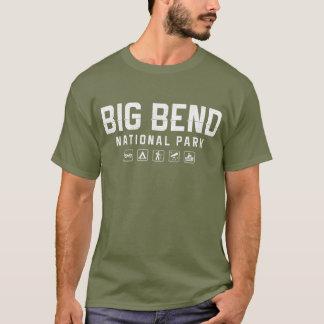 T-shirt de parc national de grande courbure (le