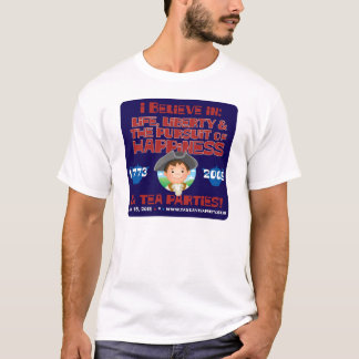 T-shirt de patriote de Lil