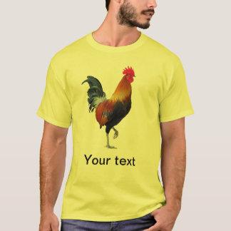 T-shirt de pavanement coloré de coq