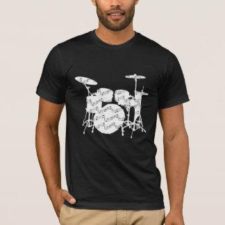 T-shirt de percussion de tambours