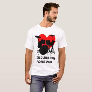 T-shirt De percussion personnalisable drôle pour toujours
