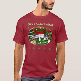 T-shirt de Père Noël Kilroy