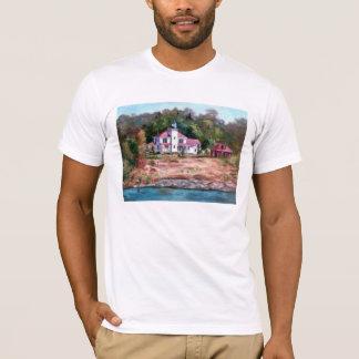 T-shirt de phare de framboise