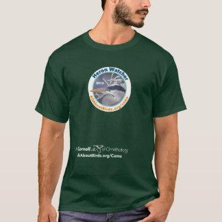 T-shirt de photo d'observateur de héron