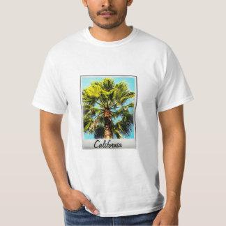 T-shirt de photographie de palmier de la