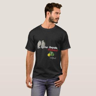 T-shirt de Pickleball - noir