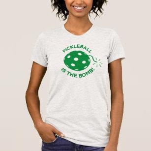 "T-shirt de Pickleball : ""Pickleball est la bombe !"